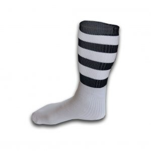 Hurling Socks Black White