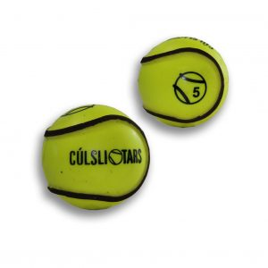 Hi Viz Sliotars for Sale Yellow Cul Sliotar