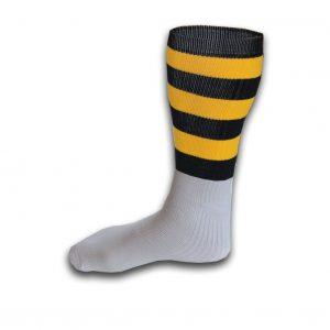 Hurling Socks Black Yellow