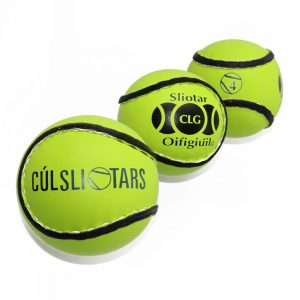 Hi Viz Sliotars for Sale Size 4 Yellow Cul Sliotar