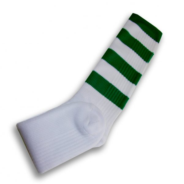 Hurling Socks Green White
