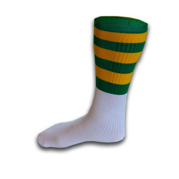 Hurling Socks Green Yellow
