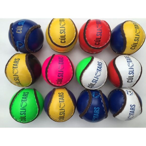 Children Multi Coloured Sliotars