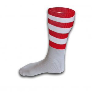Hurling Socks Red White