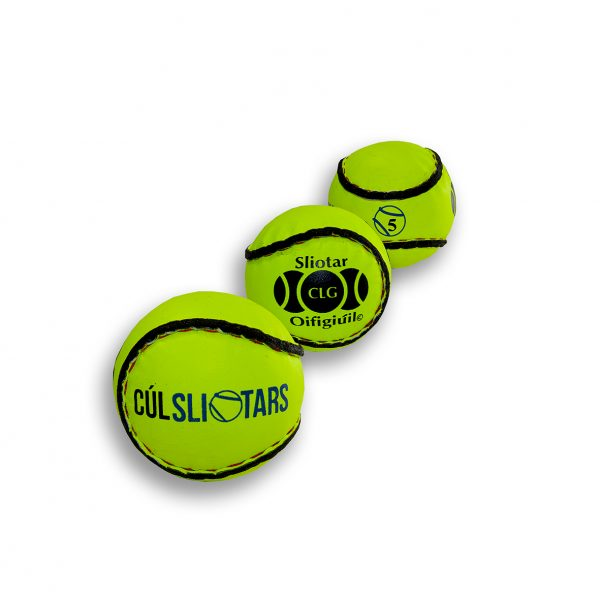 Hi Viz Sliotars for Sale Size 5 Yellow Cul Sliotar